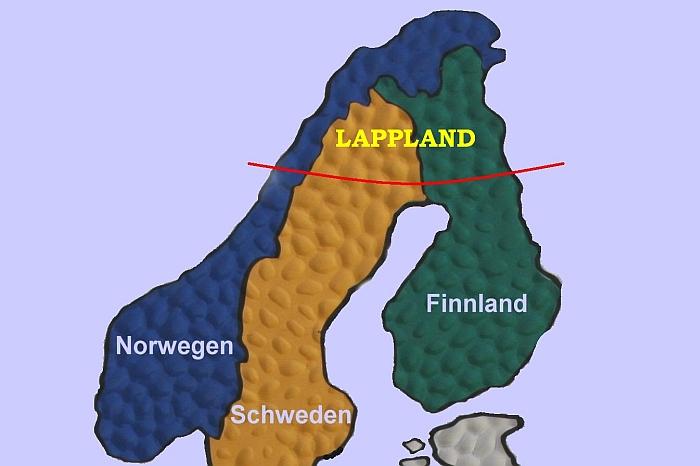 Lappland Karte.Winter Is There Finnländereien